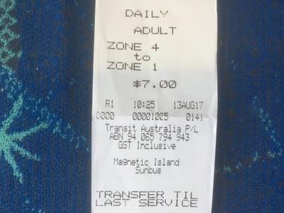 バスの1日乗り放題券