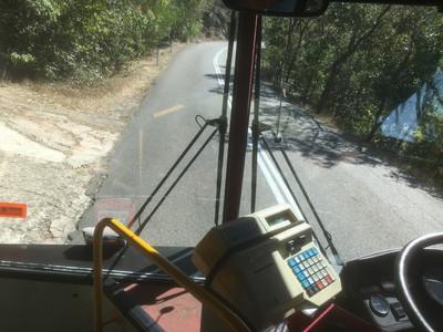 Forts Walk行きのバス
