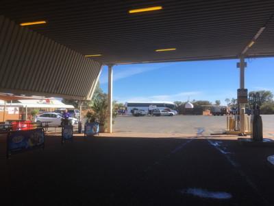 エルドンダのガソリンスタンド