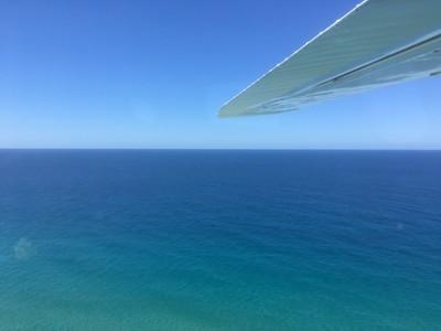 フレーザー島の シーニックフライト