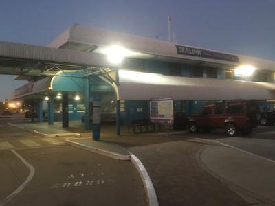 マグネチック島へのフェリー乗り場