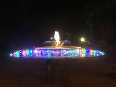 アンザックパークの噴水