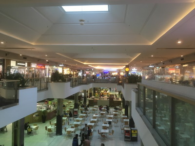 アデレードのショッピングモール