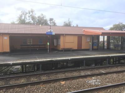 メルボルンのガーデンベイル駅