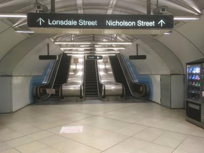 メルボルンのパーラメント駅