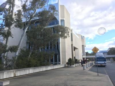 キャンベラの国立美術館