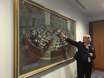 国会議事堂のガイドツアー