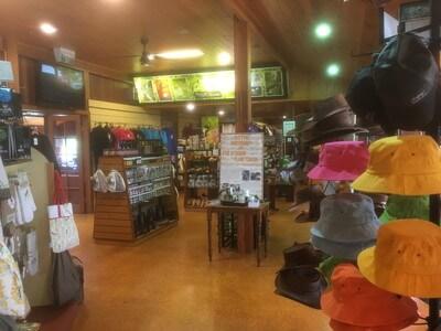 ラミントン国立公園のお土産屋さん