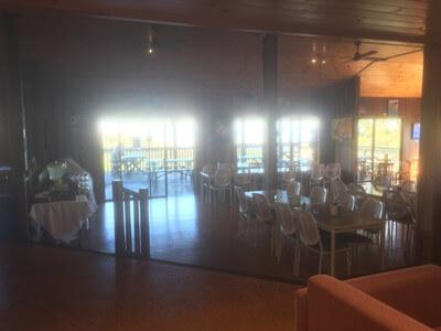 ラミントン国立公園のレストラン