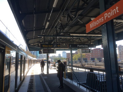ミルソンズポイント駅