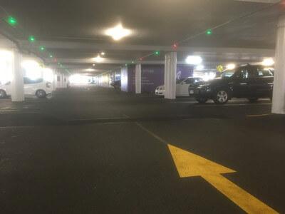 パシフィックフェアの駐車場