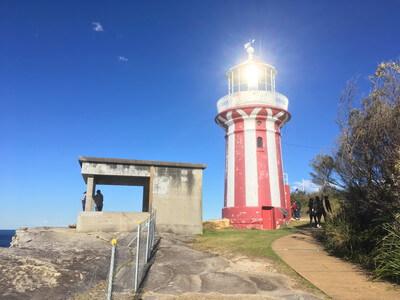 サウスヘッドの灯台
