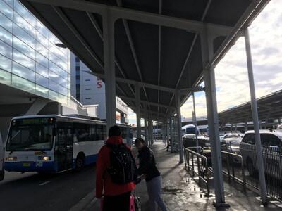 シドニー空港からボンダイジャンクションのバス