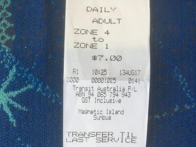 バスの1日乗り放題チケット