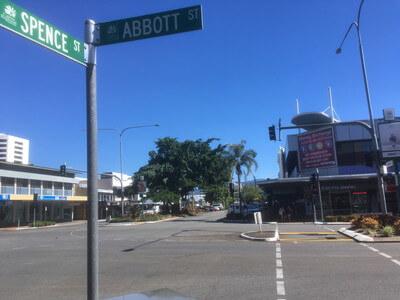 アボットストリートとスペンスストリート