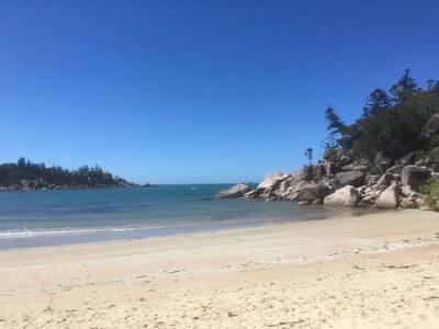 Florence Bayのビーチ