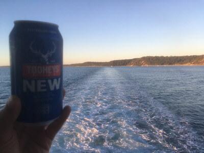 フレイザー島の地ビール