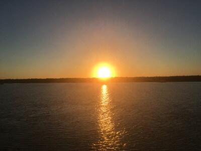 カランバの夕日