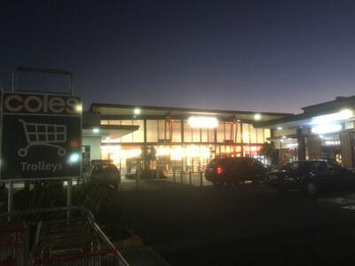 マッカイのショッピングモール