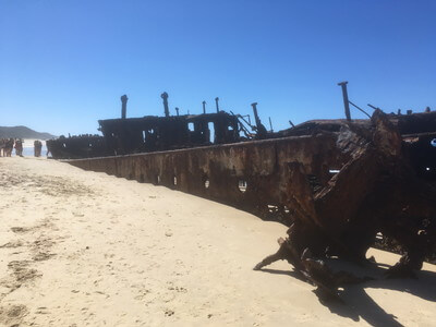 難破船マヘノ号