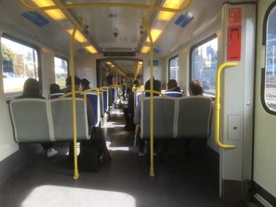 メルボルンの電車