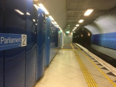パーラメント駅