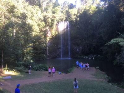ミラミラ滝