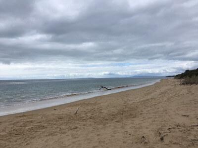 モーニントン半島のビーチ
