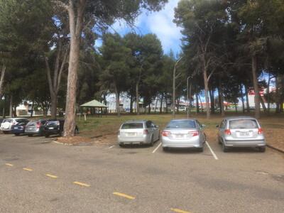 マレーブリッジの無料駐車場