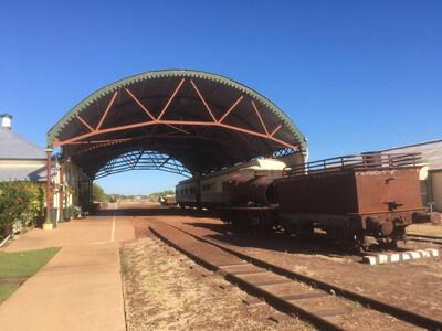 ノーマントンの鉄道駅