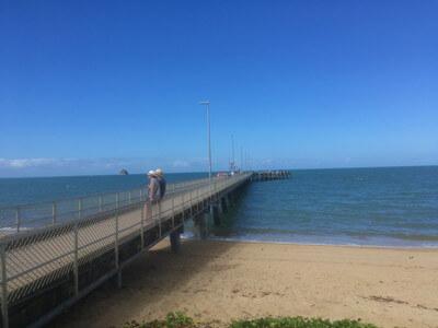 パームコーブの桟橋