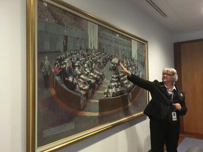 国会議事堂の無料ガイドツアー
