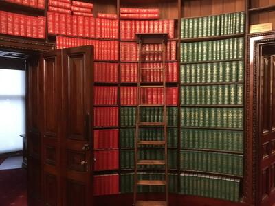 ビクトリア州議事堂の図書館