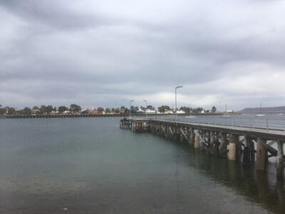 ポートオーガスタの港