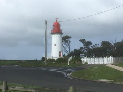 ポートランドベイの灯台