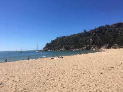Radical Bayのビーチ