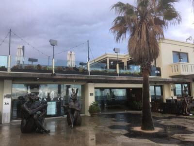 セントキルダビーチのレストラン