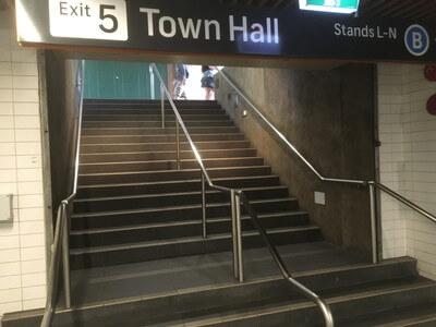 タウンホール駅