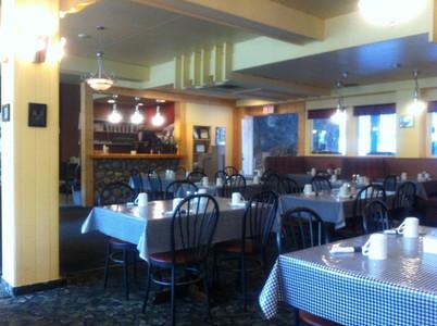 バンフのホテルのレストラン