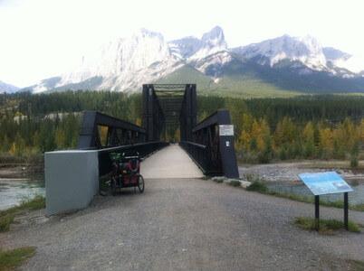 ボウ川の橋