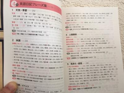 英語日記の書き方:例文を使う