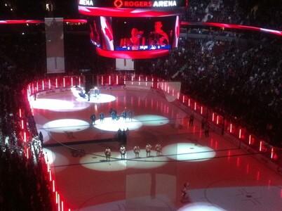 NHLの試合観戦