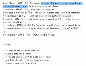 Mainichi Eikaiwaのレッスン内容