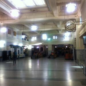 バンクーバーの鉄道駅