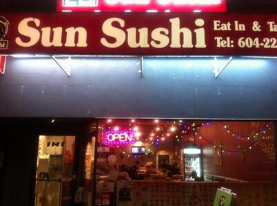 バンクーバーの寿司屋