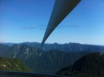 風車の展望台