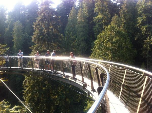 キャピラノ吊り橋