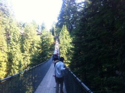 カピラノ吊り橋