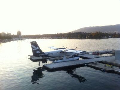 水上飛行機発着場所
