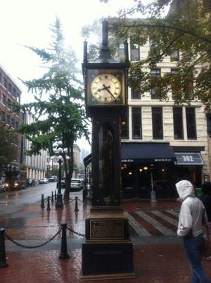 ギャスタウンの蒸気時計